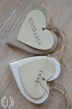woodenheart love and good luck