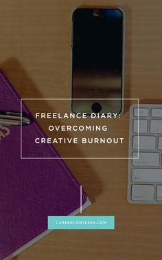 One freelancer shares how to avoid creative burnout. #WritersBlock #Freelance #Burnout #Trend