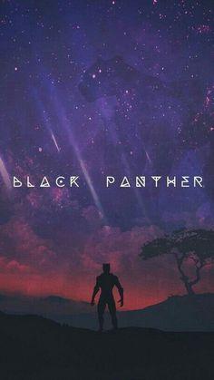 Schwarzer Panther - Avengers & Other - Marvel Black Panther Marvel, Black Panther Art, Black Panther Movie Poster, Marvel Comics, Marvel Fan, Marvel Heroes, Poster Marvel, Scarlet Witch, Marvel Universe