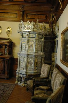 Furnace in Peles Castle | Flickr - Photo Sharing!