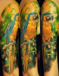 Animal Tattoo by Den Yakovlev | Tattoo No. 8405