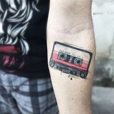 "10 Tattoos to Move the Soul of any Music Lover – Jhaiho – Medium Old soul or new kid on the block? There's a tattoo for that. Tattoos to Move the Soul of any Music Lover"" is published by Jhaiho. Tattoo Geek, Nerd Tattoos, Music Tattoos, Body Art Tattoos, Small Tattoos, I Tattoo, Music Lover Tattoo, Tatoos, Music Sleeve Tattoos"