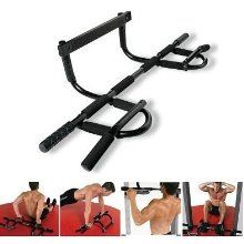 The Maximum Fitness Gear Doorway Chin Up Bar is a professional quality, heavy duty training tool that easily fits anywhere in your home. Ideal for chin. 6 Pack Abs Workout, Bar Workout, Six Pack Abs, Workout Guide, Workout Gear, No Equipment Workout, Fitness Equipment, Judo, Best Pull Up Bar