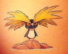 Sketchbook Daily 58# - Rockhopper Penguin