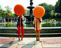 Balloons in Central Park #nyc