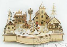Christmas Village LED and Music
