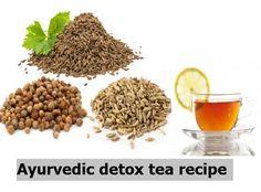Ayurveda detox tea recipe for weight loss