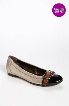 Attilio Giusti Leombruni Buckle Ballet Flat - scored the last pair in my size in Texas on  Thursday! :) CANNOT wait until the ship in!