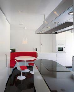 Table de cuisine ronde sur pinterest tables de cuisine for Plan banquette cuisine