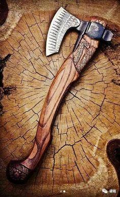 It's a Man's World - Messer Swords And Daggers, Knives And Swords, Vikings, Hand Axe, Tomahawk Axe, Axe Handle, Beil, Viking Axe, Battle Axe