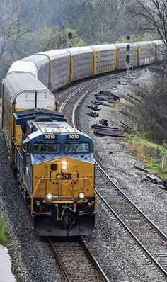 Trains, America, Train, Usa