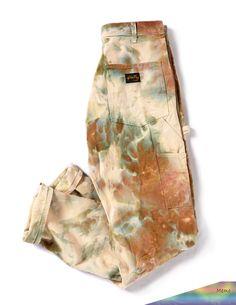 Bleach Tie Dye Discover Painters Pants in Ivory Look Fashion, Diy Fashion, Ideias Fashion, Fashion Outfits, Womens Fashion, Fashion Design, Fashion Pants, 90s Teen Fashion, Swag Fashion