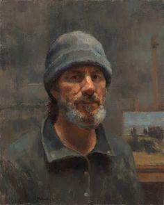 Jim McVicker Paintings: Self Portrait - December 2012 Figure Painting, Painting & Drawing, Famous Artists, Male Artists, Modern Artists, S Pic, Drawing People, Portrait Art, Impressionist