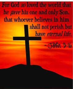 God SO Loved the World!