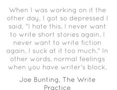 Why can't I write? Help!! How to cure writer's block?