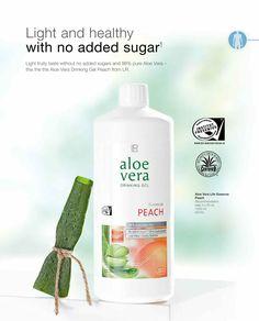 Aloe Vera Gel good for diabete: https://www.lraloevera.eu/lr-aloe-vera-drinking-gel-peach/
