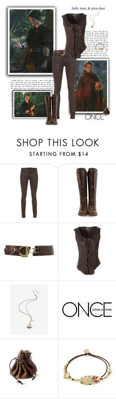 """""""I am Peter Pan"""" by greerflower ❤ liked on Polyvore featuring Koral, John Fluevog, Jane Norman, Once Upon a Time and Gas Bijoux"""