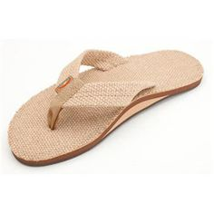 23afdcb2c0f Rainbow Single Layer Burlap Sandals for Men Best Flip Flops