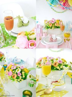 My Pastel Easter Brunch Tablescape - easy to style ideas, place-settings and floral decor for a spring party table or Easter celebration at home! #easter #tablescape #eastertable #eastertablescape #easterbrunch #pasteltablescape #easterparty #pasteleaster #springparty