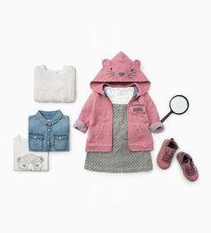 *verliefd op dit setje* Back to School - Baby meisje (3 - 36 maanden) - KINDEREN   ZARA Nederland