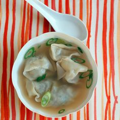 Making this classic Chinese soup is a lot of fun and easier than you might think -- it's the perfect snow-day activity.