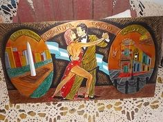 Carlos Dujo Argentina Tango Copper Wall Hanging/Copper,Manos Artesanas, Tango, Not included in Coupon Sale by Daysgonebytreasures on Etsy