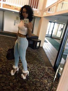 Mild black women ass in pants valuable