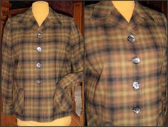 PENDLETON 49er 50's Wool Jacket L to XL by VoraciouslyVintage