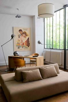 Tour a stylish parisian duplex with a modern vision ave - Appartement avec vue clifton aa interiors ...