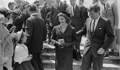 Attending mass near Glen Ora in 1962