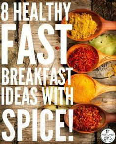 The benefits of (literally) spicing up your most important meal of the day are endless! | Fit Bottomed Girls