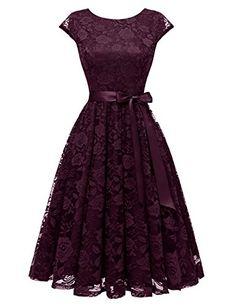 By Alina Robe Femme Mini-robe en mousseline de soie d/'été à langer robe plage robe fleurs XS-M