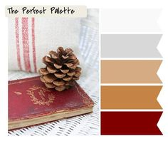 Rustic http://www.theperfectpalette.com/2011/12/holiday-inspired-color-palettes.html