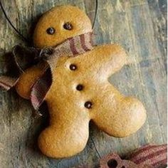 Making gingerbread cookies? Turn them into ornaments that will last for years with three coats of varnish.   38 Clever Christmas Hacks That Will Make Your Life Easier