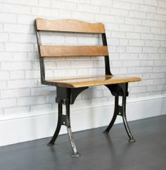 Industrial Waiting Room Bench - Bring It On Home