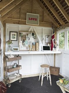 101 best Shed Interiors images on Pinterest in 2018 | Garden tool ...