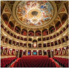 Budapest Opera House - A Must See. A cultural and architectural gem of this city.