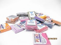 *** Information about brands of polymer clay : how to use each one and how they differ