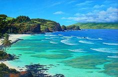 North Shore, Hawaii  best surfing place ever.....