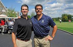 Matthew Calamari (right) with Donald Trump Jr.