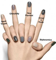 If you are a big fan of manicure, you can not miss the Essie brand. How To Do Nails, Fun Nails, Pretty Nails, Nagellack Trends, Neutral Nails, Neutral Colors, Fall Nail Colors, Winter Nail Colors, Dark Nails