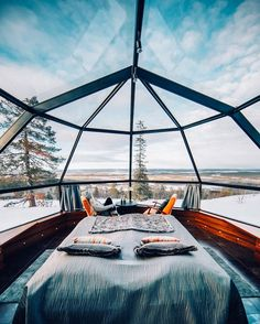These All-Glass Igloos in Finland Provide the Best Northern Lights Viewing Ever