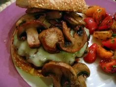 The Mushroom Swiss Burger