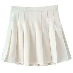 Women School Uniforms plaid Pleated Mini Skirt ($14) ❤ liked on Polyvore featuring skirts, mini skirts, plaid miniskirts, short plaid skirt, short skirts, pleated skirts and mini skirt
