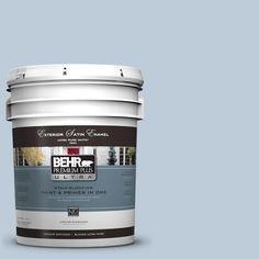 BEHR Premium Plus Ultra 5-gal. #UL240-14 Melody Satin Enamel Exterior Paint
