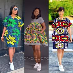 Short African Dresses, African Lace Styles, Ankara Styles For Women, Ankara Short Gown Styles, Lace Dress Styles, African Fashion Ankara, African Inspired Fashion, Latest African Fashion Dresses, African Print Fashion