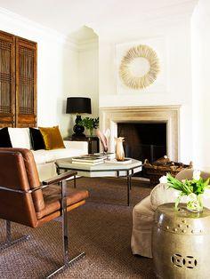 Simple neutrals in this Madrid home | Designer Isabel López-Quesada