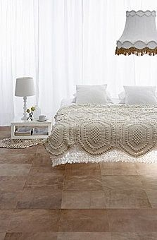 This is the inspiration - Crocheted blanket.