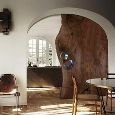 Wonderful handmade sliding doors out of Bog Oak slabs, perfect furniture for modern or antique style. We don't kill trees for profit - we honor them giving Bog Oak its third life after searching and mining them from Polish rivers and lakes. Deco Design, Wood Design, Deco Furniture, Furniture Design, Hanging Barn Doors, Double Barn Doors, Interior Barn Doors, Wood Doors, Sliding Doors