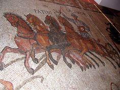 Mosaic de Can Pau Birol (Bell-lloc del Pla. Girona). S. III dC by l_inclan, via Flickr